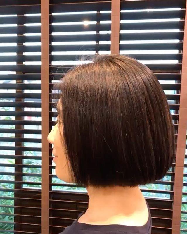 #縮毛矯正 薬がすごく進化してとても自然な仕上がりに夏に向けていかがですか?